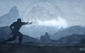Картинка боец, ниндзя, Sub-Zero, Mortal Kombat X
