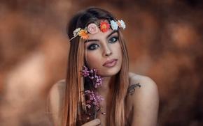 Картинка прелесть, венок, Aphrodite, Alessandro Di Cicco