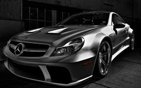 Картинка Mercedes-Benz, родстер, автомобиль, AMG, спортивный, SL-Klasse