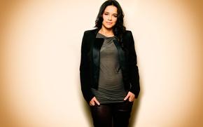 Картинка фон, портрет, Michelle Rodriguez