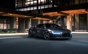 Картинка Audi, Front, Black, Redwood, Exotic, SS Customs