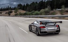 Картинка дорога, car, авто, Concept, Audi, скорость, speed, TT, Clubsport Turbo