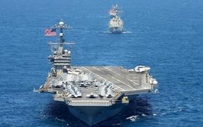 Картинка USS George Washington, aircraft carrier, be ready