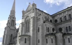 Картинка Cathedral, Quebec, Basilica, Sainte-Anne-de-Beaupré, St. Anne de Beaupre