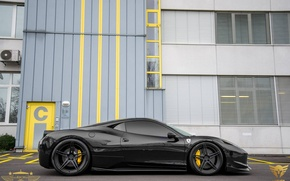 Картинка Ferrari, 2014, 458 Italia, Tuned by Luxury Custom