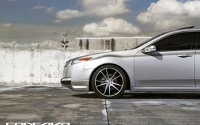 Картинка облака, фары, Wheels, Acura TL, Concavo, CW-S5, Concave