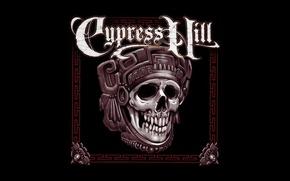 Картинка Минимализм, Череп, Music, Rapcore, Cypress Hill, Hip-Hip