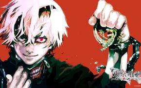 Картинка аниме, токийский гуль, токийский монстр, Tokyo Ghoul