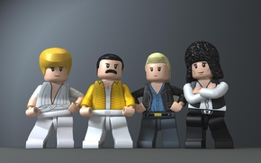 Картинка Queen, Freddie Mercury, Brian May, Roger Taylor, John Deacon
