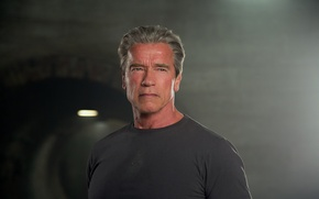 Картинка Арнольд Шварценеггер, terminator, Arnold Schwarzenegger, Terminator Genisys, Терминатор 5