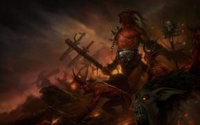 Картинка оружие, ярость, демоны, войско