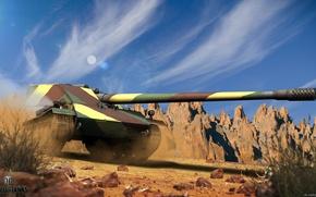 Картинка игры, оружие, танк, game, weapon, world of tanks, мир танков, tank, Borsig Waffenträger
