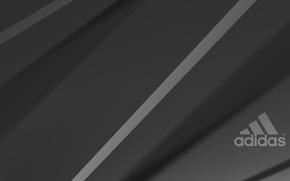 Картинка серый, фон, черный, лого, logo, адидас, adidas