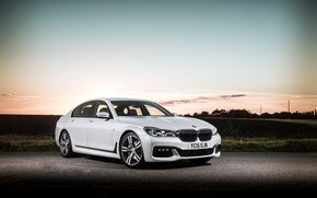 Картинка бмв, BMW, xDrive, 7-Series, 2015, G11