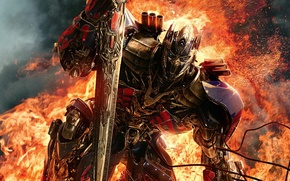 Картинка Optimus Prime, Transformers: Age of Extinction, autobot, Трансформеры: Эпоха истребления