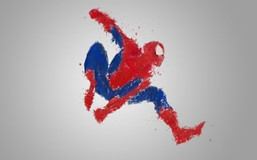 Картинка spider-man, marvel, painting, spiderman, webhead