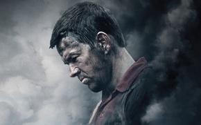 Картинка фон, дым, триллер, постер, драма, Марк Уолберг, Mark Wahlberg, чумазый, Глубоководный горизонт, Deepwater Horizon