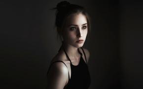 Картинка фон, портрет, прелесть, selfportrait, Vicki
