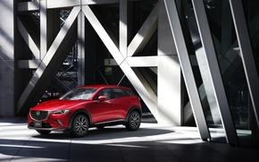 Картинка Mazda, мазда, кроссовер, CX-3