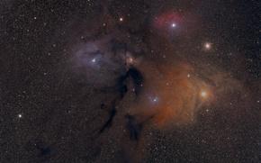 Картинка небо, космос, звезды, созведия