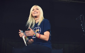 Картинка девушка, music, блондинка, певица, girl, pop-rock, australian, дженна макдоугал, tonight alive, jenna mcdougall