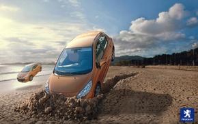 Картинка Peugeot-207, Rubén Chase, концептуальная фотография