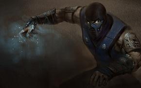 Картинка маска, ниндзя, art, Mortal Kombat, Sub-Zero, Kuai Liang