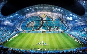 Картинка Стадион, Олимпик Марсель, OLYMPIQUE DE MARSEILLE