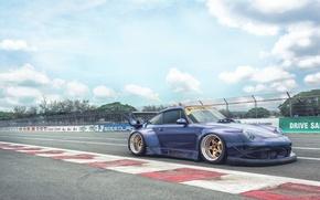 Картинка Porsche 911, 993, carrera, 1994, Rauh