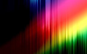 Обои цвет, фон, полосы, линии, спектр