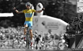 Картинка bicycle, Italy, race, men, victory, competition, italian, Tour, blackandwhite, Nibali, Vincenzo Nibali