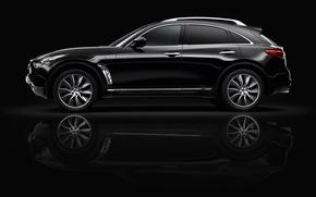 Картинка Infiniti, black, auto, 4x4