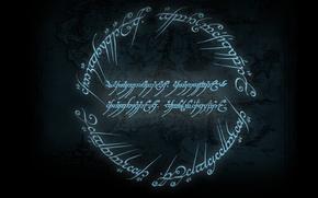 Картинка Карта, Властелин Колец, Дж. Р. Р. Толкин, Средиземье, Хоббит, Чёрное наречие
