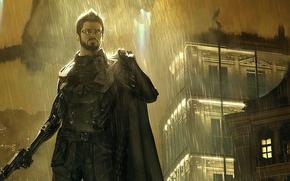 Картинка Square Enix, Адам Дженсен, Adam Jensen, Deus Ex: Mankind Divided