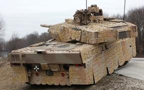 Картинка танк, бронетехника, военная техника, Leopard 2A7+