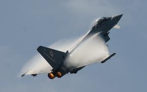 Картинка авиация, оружие, истребитель, многоцелевой, Typhoon, FGR4