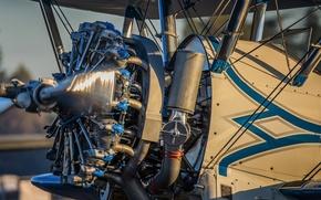 Картинка авиация, двигатель, самолёт, мотор