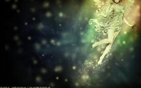 Картинка свет, ветер, ангел, wings