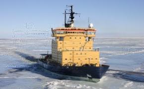 Картинка ice, sea, winter, ship, sweden, ice-breaker, ymer, bothnia