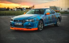 Картинка Nissan, Skyline, Nismo, GT-R34