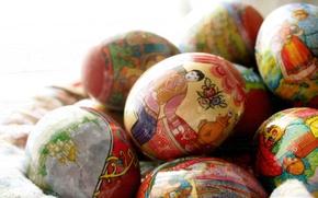 Картинка яйца, пасха, украшение, фантик, обёртка