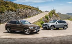 Картинка Mercedes-Benz, 4MATIC, GLC, 350 e