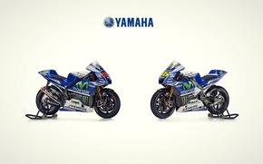 Картинка Yamaha, team, double, motogp2014