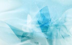 Картинка волны, Синий, изгибы
