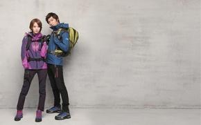 Картинка Lee Min Ho, рюкзак, актер, Yoona, спортивная одежда