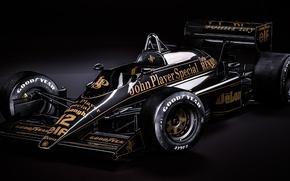 Картинка болид, formula 1, rendering, Ayrton Senna, Lotus 98T