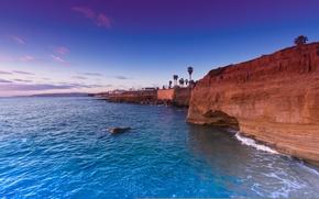 Картинка USA, США, San Diego, Сан-Диего, State California, Sunset Cliffs, Штат Калифорния