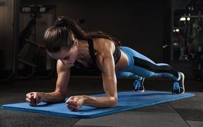 Картинка strength, workout, fitness, pushups, transpiration