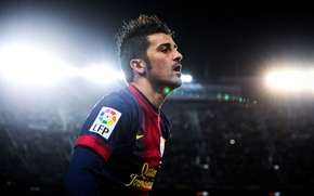 Картинка Спорт, Футбол, Барселона, Football, Barcelona, Давид Вилья, David Villa, Camp Nou, Камп Ноу