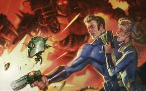 Обои Арт, DLC, Bethesda Softworks, Bethesda, Bethesda Game Studios, Fallout 4, The Art of Fallout 4, ...